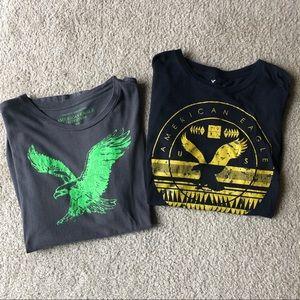BUNDLE!! Two american eagle short sleeve tshirts